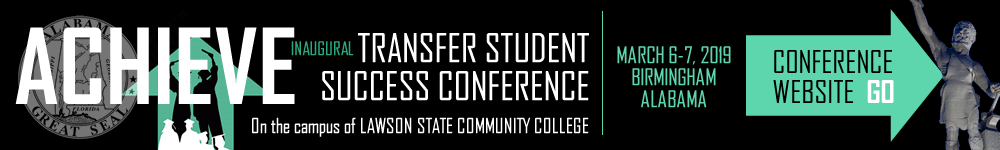 ACHIEVE 2019 - TRANSFER STUDENT SUCCESS CONFERENCE