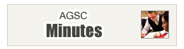 AGSC Minutes