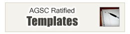AGSC Ratified Templates
